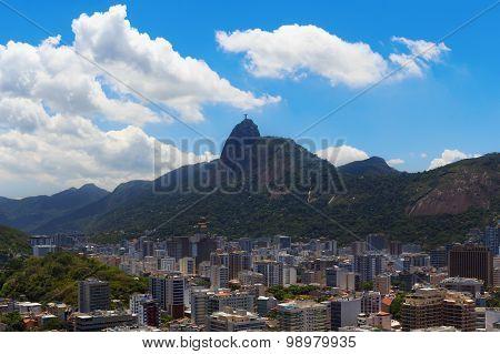 Mountain Corcovado Christ The Redeemer, Rio De Janeiro