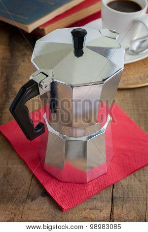 Classic Moka Coffee Pot