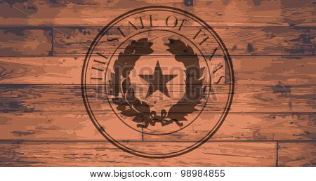 Texas State Seal Brand