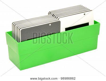 Box Of Slide Transparencies