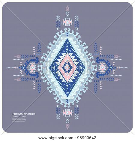 Tribal vector ethnic Mexican,  African ornament