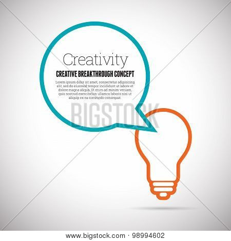 Creativity Lightbulb Copyspace