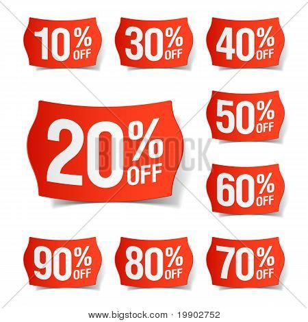 Discount price tags