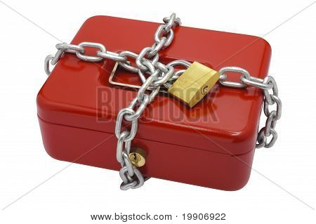 locked cash box