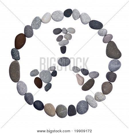 Radiation Warning Sign Of Stones
