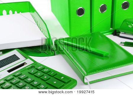 Green Business Still Life