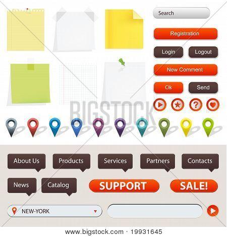 Gps Navigation Elements