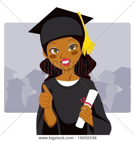 African American Graduate