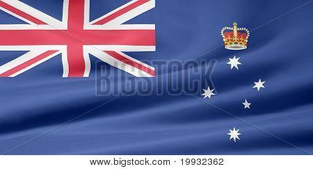 Flag of Victoria - Australia