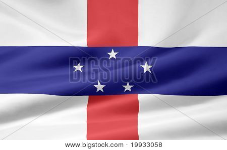 Flag of the Netherland Antilles