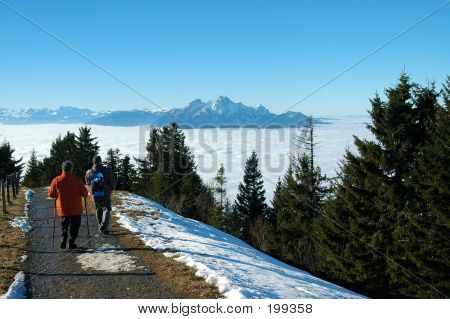 Above The Clouds, Mount Rigi, Switzerland