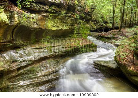 Old Man's Cave Ohio