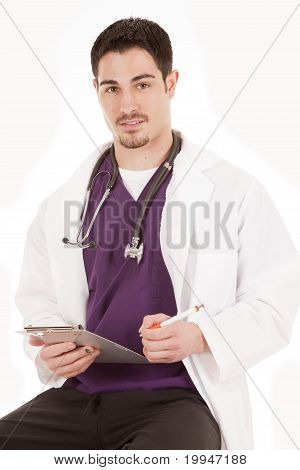 Male Doctor Smile