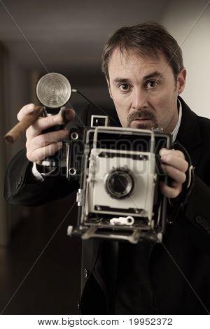 Fotógrafo de prensa