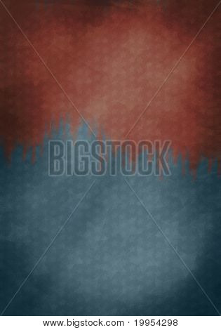 Graphic Design (vintage Background) - Made In Usa - Flag Elements