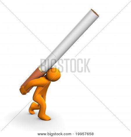 Vício de cigarro