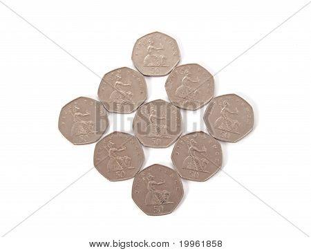 British, Uk, Coins.
