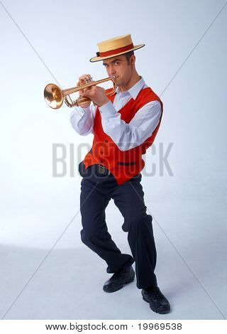 Musician With Trumpet