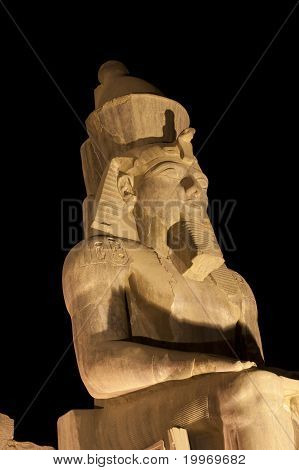 Statue Of Ramses Ii At Luxor Temple
