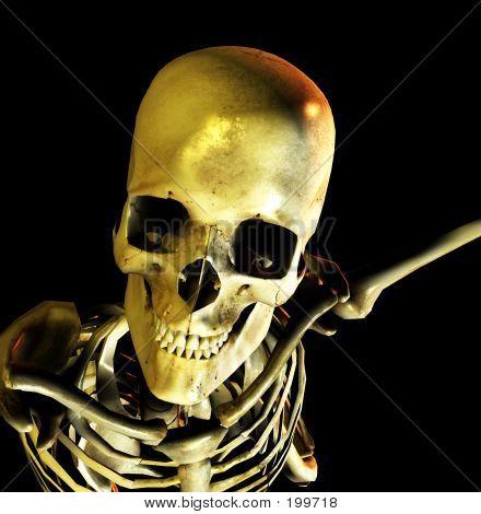 Bone Pose 9