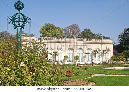 Park Bagatelle In The Bois De Boulogne In Paris