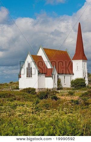 Peggy Cove church