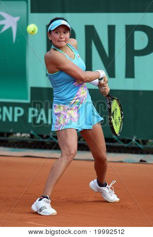 Erika Sema (jpn) At Roland Garros 2011