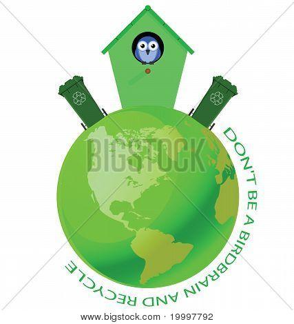 Bird house recycle