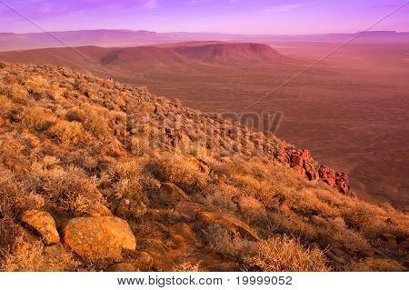 Dry Karoo Landscape