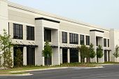 stock photo of commercial building  - New Large Commercial Office Building Available for Sale or Lease - JPG