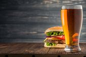 Burger And Beer poster