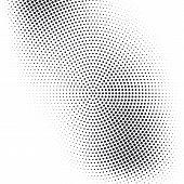 halftone poster