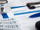Health Insurance Claim Form poster