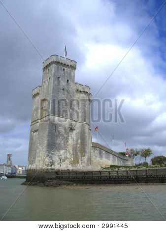Tower And Castle At La Rochelle