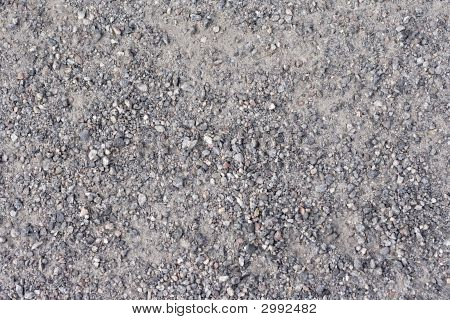 Fine Gravel Texture Background, Stock Photo