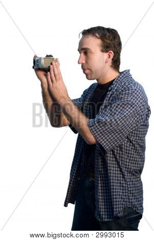 Man Videotaping
