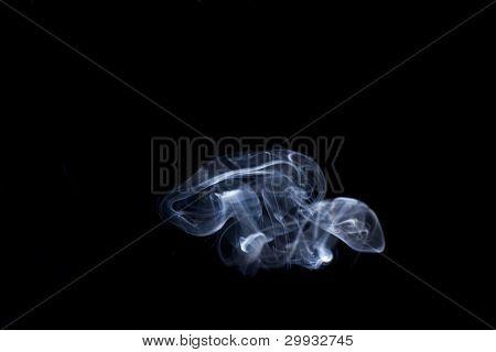 abstract smoke mushrooms