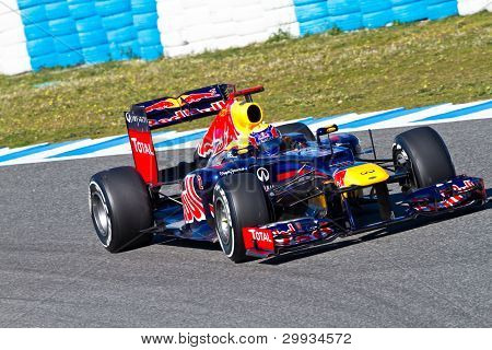 Team Red Bull F1, Mark Webber, 2012