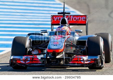 Team Mclaren F1, Jenson Button, 2012