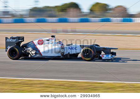 Team Sauber F1, Kamui Kobayashi, 2012
