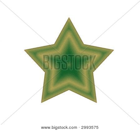 Ivory Gold Star