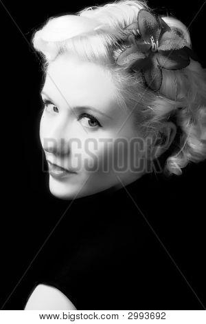 BW portrait