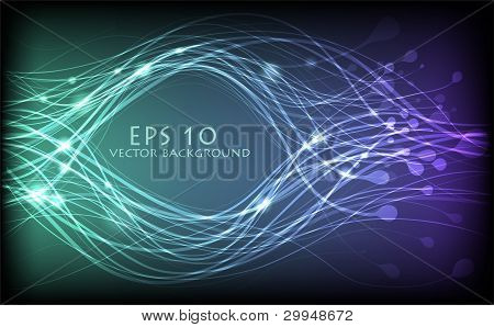 Vector Abstract Lines Design