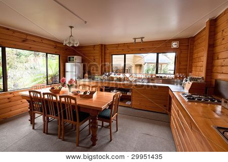 Lodge Breakfast Room Interior