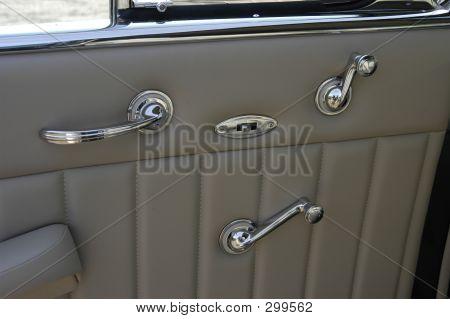 Vintage Cadillac Interior