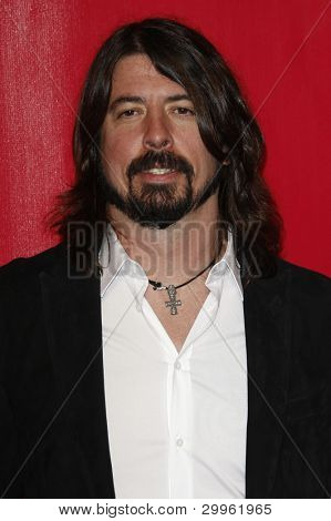 LOS ANGELES, CA - FEB 10: Dave Grohl at the 2012 MusiCares Person of the Year Tribute To Paul McCartney at the LA Convention Center on February 10, 2012 in Los Angeles, California