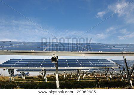 solar panel renewable eco  energy field
