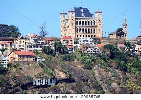 Rova Palace in Antananarivo