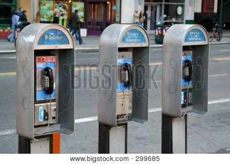 Urban Pay Phones