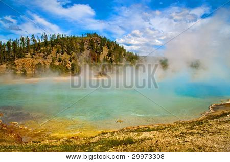 Primavera prismático gran Yellowstone